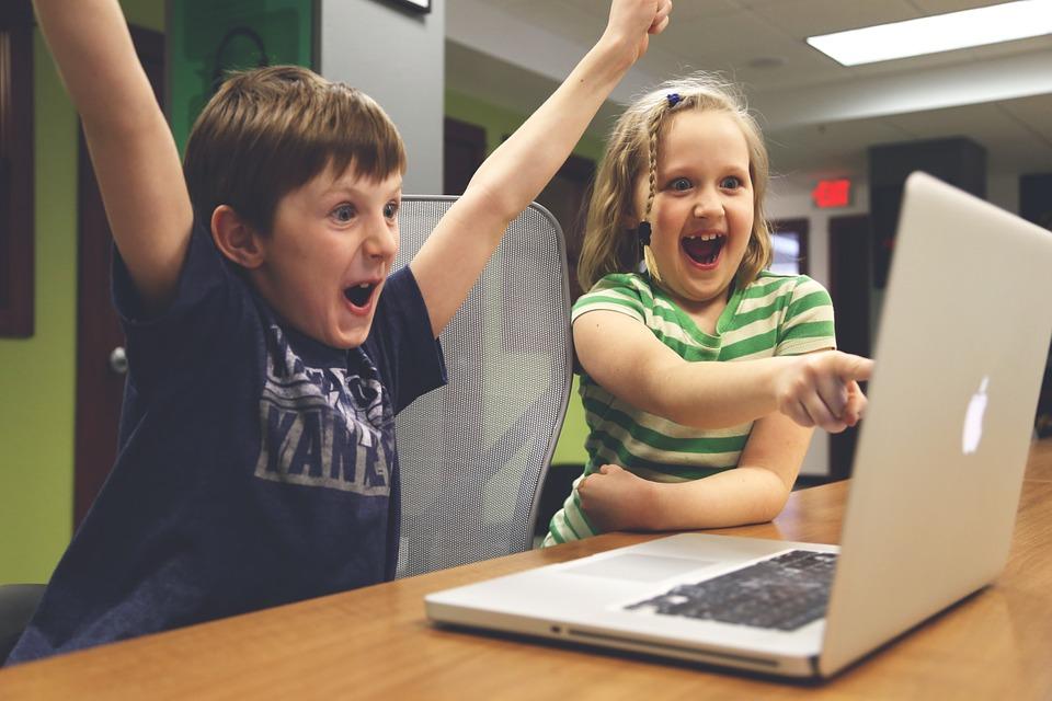 børn og computer