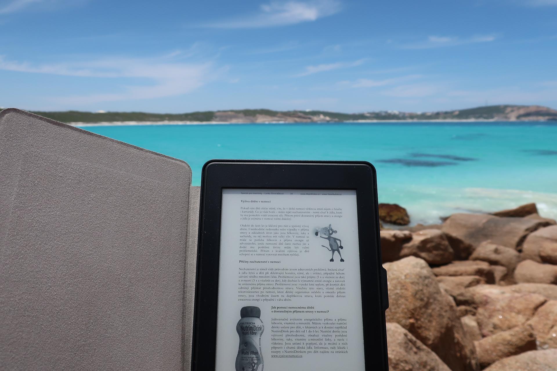Læs på strand